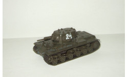тяжелый танк КВ 1 С 1942 Великая отечественная война СССР серия 'Русские танки' 1:72, масштабные модели бронетехники, 1/72, Русские танки (Ge Fabbri)
