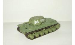 танк КВ 1 (Климент Ворошилов) 1941 Великая отечественная война СССР серия 'Русские танки' 1:72, масштабные модели бронетехники, 1/72, Русские танки (Ge Fabbri)