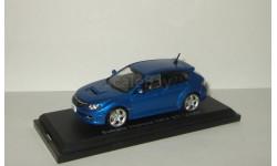 Субару Subaru Impreza WRX Sti 2009 Aoshima / Ebbro 1:43, масштабная модель, 1/43