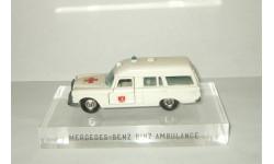 Мерседес Mercedes Benz W110 Binz Ambulance Скорая помощь Matchbox 1:43