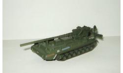 самоходная пушка САУ 2С7 Пион 1979 СССР серия 'Русские танки' 1:72, масштабные модели бронетехники, Русские танки (Ge Fabbri), scale72