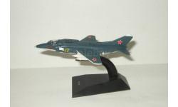 самолет Як 38 1976 СССР серия Легендарные самолеты IXO De Agostini 1:86, масштабные модели авиации, DeAgostini (военная серия)