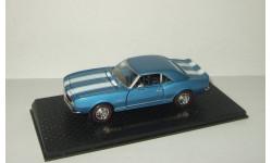 Шевроле Chevrolet Camaro 1968 Road Champs 1:43, масштабная модель, 1/43