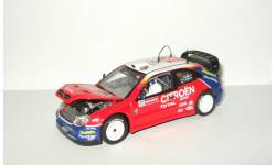Ситроен Citroen Xsara WRC 2001 Vitesse 1:43 Ранний Открывается капот + Фигурка, масштабная модель, Citroën, scale43