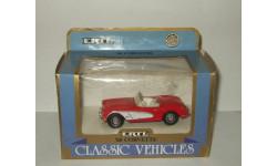 Шевроле Chevrolet Corvette 1960 Ertl 1:43, масштабная модель, 1/43, ERTL (Auto World)