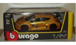 Рено Renault Megane Trophy Bburago 1:24, масштабная модель, 1/24