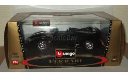 Феррари Ferrari F50 1995 Черный Bburago 1:24, масштабная модель, 1/24
