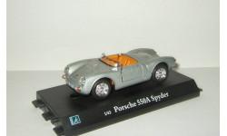 Порше Porsche 550 A Spider 1954 Hongwell Cararama 1:43 Ранний Открываются двери, масштабная модель, 1/43, Bauer/Cararama/Hongwell