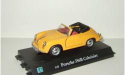 Порше Porsche 356 Кабриолет 1964 Hongwell Cararama 1:43 Ранний Открываются двери, масштабная модель, 1/43, Bauer/Cararama/Hongwell