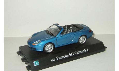 Порше Porsche 911 Кабриолет 1998 Hongwell Cararama 1:43 Ранний Открываются двери, масштабная модель, Bauer/Cararama/Hongwell, scale43