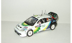 Форд Ford Focus RC WRC 2003 Ралли Акрополис Vitesse 1:43 Ранний Открывается капот + фигурка, масштабная модель, scale43