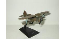 самолет Поликарпова И 153 Чайка 1937 СССР Легендарные самолеты IXO De Agostini 1:70, масштабные модели авиации, IXO Самолёты
