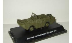 Джип Jeep GPA Amphibian 4x4 British Army 1944 Вторая Мировая война Victoria Vitesse 1:43, масштабная модель, 1/43