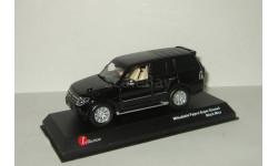 Мицубиси Mitsubishi Pajero IV 4х4 Черный Kyosho 1:43, масштабная модель, 1/43