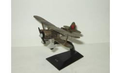 самолет Поликарпова И 152 1938 СССР Легендарные самолеты IXO De Agostini 1:71, масштабные модели авиации, IXO Самолёты