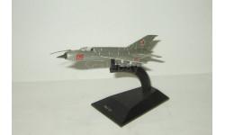 самолет Миг 21 1959 СССР серия Легендарные самолеты IXO De Agostini 1:123, масштабные модели авиации, DeAgostini (военная серия)