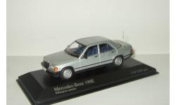 Мерседес Бенц Mercedes Benz 190 E W201 C Class 1984 Minichamps 1:43 400034101, масштабная модель, 1/43, Mercedes-Benz