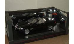Мерседес Mercedes Benz SL R230 2001 Черный Maisto 1:18