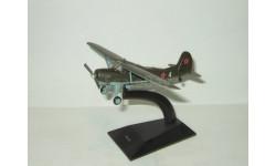 самолет Яковлев Як 12 1946 СССР серия Легендарные самолеты IXO De Agostini 1:86, масштабные модели авиации, DeAgostini (военная серия)