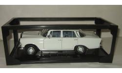 Мерседес Mercedes Benz 200 W110 1965 Белый Седан Norev 1:18