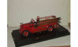 REO 1928 Пожарный Signature Yatming 1:32 32308, масштабная модель, 1/32