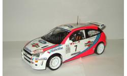Форд Ford Focus 1 WRC Rally Portugal McRae Grist 1999 Minichamps Action 1:18 032361, масштабная модель, scale18