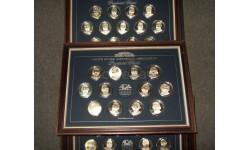 США Набор Монета 37 штук Серебряных монет Американские президенты White House Historical Association