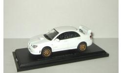 Субару Subaru Impreza WRX STi 2006 Белая Aoshima / Ebbro 1:43, масштабная модель, 1/43