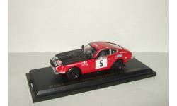 Ниссан Nissan Fairlady Z Monte Carlo Rally 1972 Aoshima / Ebbro 1:43, масштабная модель, 1/43