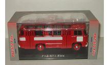 автобус Паз 672 Пожарный 03 1979 СССР ClassicBus 1:43 03002, масштабная модель, scale43