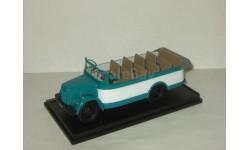 Газ Кавз 651 ЦАРМ автобус курортный IXO IST 1:43 Проработан салон, масштабная модель, 1/43, Автолегенды СССР журнал от DeAgostini