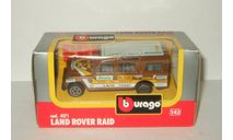 Land Rover Defender Raid 4x4 Bburago 1:47 Made in Italy 1990-е, масштабная модель, 1:43, 1/43