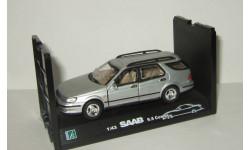 Сааб Saab 9 5 Estate 1996 Cararama Hongwell 1:43 Ранний Открываются двери, масштабная модель, Bauer/Cararama/Hongwell, scale43