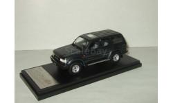Тойота Toyota LAND CRUISER 80 Turbo 4WD VX-LTD 1989 Bluish Grey Hi Story 1:43 HS124GR, масштабная модель, 1/43, Hi-Story