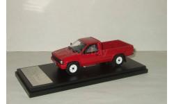 Ниссан Датсун Nissan DATSUN Truck Long Body AD 1985 Red Пикап Hi Story 1:43, масштабная модель, 1/43, Hi-Story