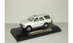 Тойота Toyota Hilux Surf 4x4 SSR-Ltd 1989 Белый Hi Story 1:43 HS041WH, масштабная модель, scale43, Hi-Story