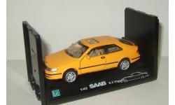 Сааб Saab 9-3 Viggen 1999 Cararama Hongwell 1:43 Ранний Открываются двери, масштабная модель, 1/43, Bauer/Cararama/Hongwell