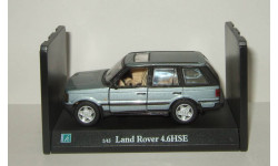Range Rover 4x4 1998 Cararama Hongwell 1:43 Ранний Открываются двери, масштабная модель, Bauer/Cararama/Hongwell, Land Rover, scale43