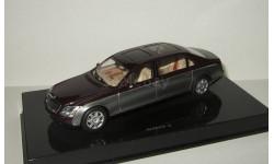 лимузин Майбах Maybach 62 (Длинная версия) 2003 Autoart 1:43 Поворотные колеса, масштабная модель, scale43
