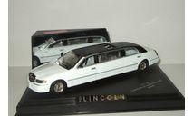 лимузин Линкольн Lincoln Town Car Limousine 2000 Двухцветный Vitesse 1:43 10110, масштабная модель, 1/43