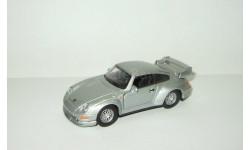 Порше Porsche 911 GT2 1996 Открываются двери Hongwell Cararama 1:43 Ранний выпуск, масштабная модель, 1/43, Bauer/Cararama/Hongwell