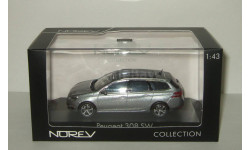 Пежо Peugeot 308 SW 2014 Norev 1:43 473836, масштабная модель, 1/43