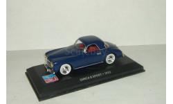 Симка Simca 8 Sport 1952 IXO Altaya 1:43, масштабная модель, 1/43