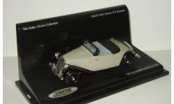 Ситроен Citroen 7CV Roadster 1936 Vitesse 1:43 23425, масштабная модель, Citroën, scale43