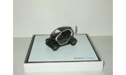 Рено Renault Twizy (Темный цвет) Eligor 1:43, масштабная модель, scale43