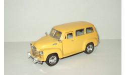 Шевроле Chevrolet Suburban 1950 Kinsmart 1:36, масштабная модель, scale35