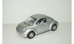 Фольксваген VW Volkswagen New Beetle 1999 Kinsmart 1:32, масштабная модель, scale32