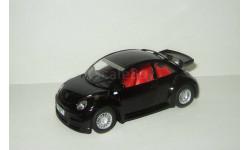 Фольксваген VW Volkswagen New Beetle RSi 1999 Kinsmart 1:32 Открываются двери, масштабная модель, scale32