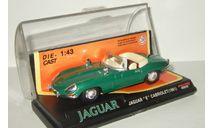 Ягуар Jaguar E Type Cabriolet 1961 New Ray 1:43 48839 Ранний, масштабная модель, scale43