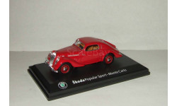 Skoda (Шкода) Popular Sport Monte Carlo 1935 Abrex 1:43, масштабная модель, 1/43